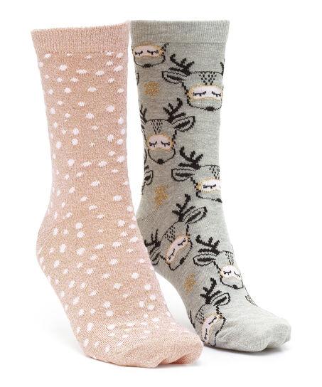 2 paar Katoenen Sokken, Wit