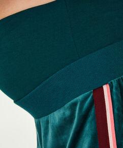 Zwangerschapsjoggingbroek Velours, Groen