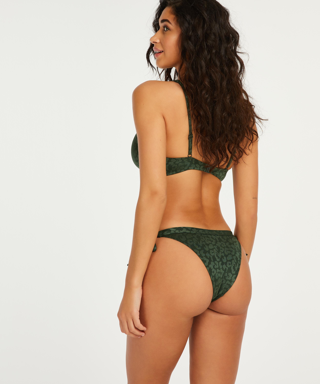 Niet-voorgevormde beugel bikinitop Tonal, Groen, main