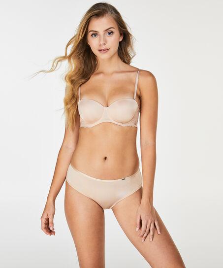 Voorgevormde strapless beugel bh Angie Nude, Huidskleur