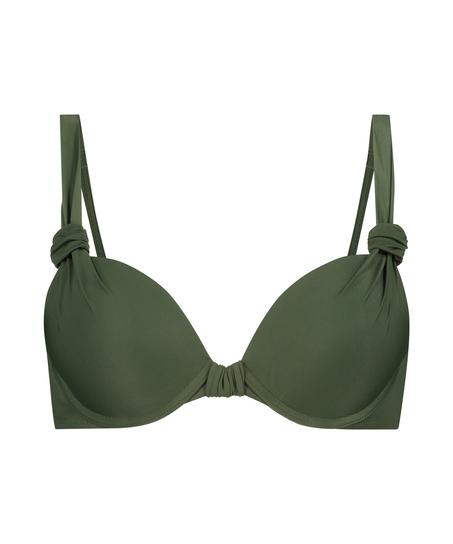 Push-up bikinitop Luxe Cup A - E, Groen
