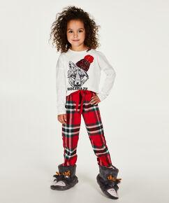 Kinderpyjamaset meisje, Rood