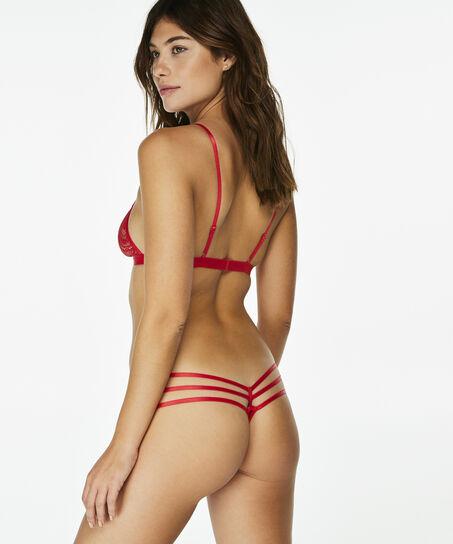 Bralette Madisyn, Rood