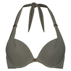 Voorgevormde push-up bikinitop Boho Chic, Groen