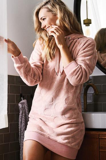 Van Hunkemöller Badjas Fleece dress Roze Prijsvergelijk nu!