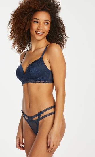 String Itzel, Blauw
