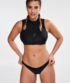 HKMX Laag cheeky bikinibroekje, Zwart