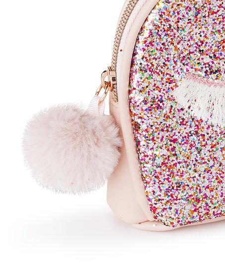 Make-up tas Glitter, Roze