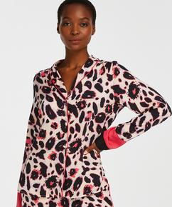 Pyjama jasje lange mouwen Duckie, Roze