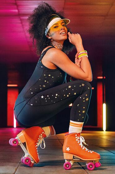 Hunkemöller HKMX high waist sport legging Star Zwart