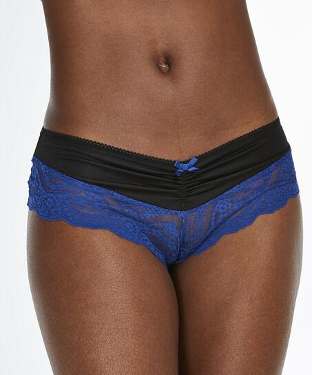 Micro brazilian Lacey, Blauw