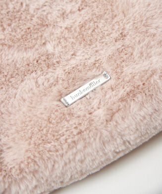 Make-up tas Fake fur, Roze