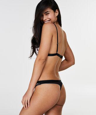 Bralette Ashley, Zwart