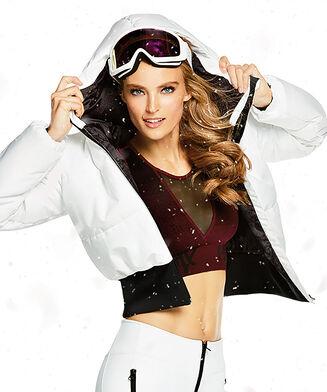 HKMX Ski jas, Wit