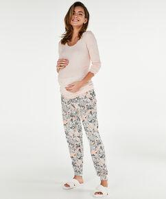 Zwangerschapslegging Jersey, Roze