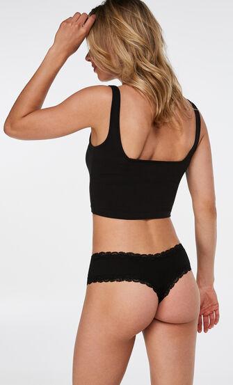 V-shape brazilian, Zwart