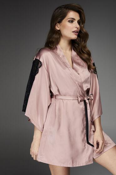 Kimono Satin Huidskleur
