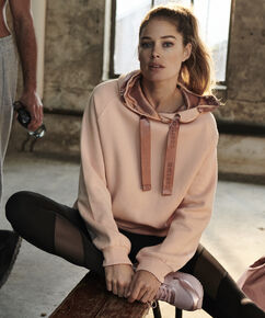 HKMX Hooded sweater Doutzen, Roze