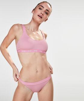 HKMX bikini crop top closure, Roze
