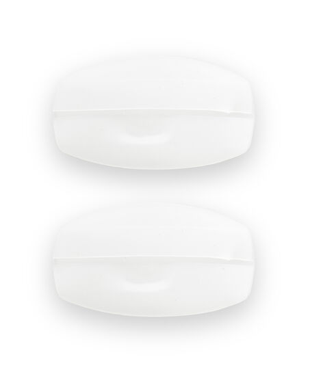 Comfortabele Siliconen BH-Bandjes, Wit