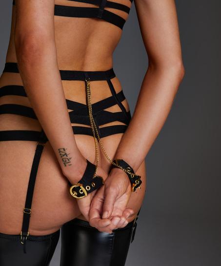 Hoge string Ivy, Zwart