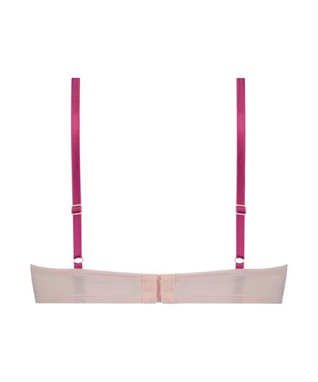 Voorgevormde beugel bh Plunge, Roze