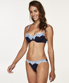 String Secret Lace, Blauw