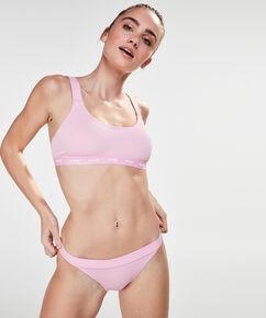 HKMX Laag rio bikinibroekje closure, Roze