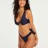 Niet-voorgevormde beugel bikinitop Harper, Blauw