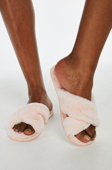 Hunkemöller Cross Straps Indoor Sandal Roze