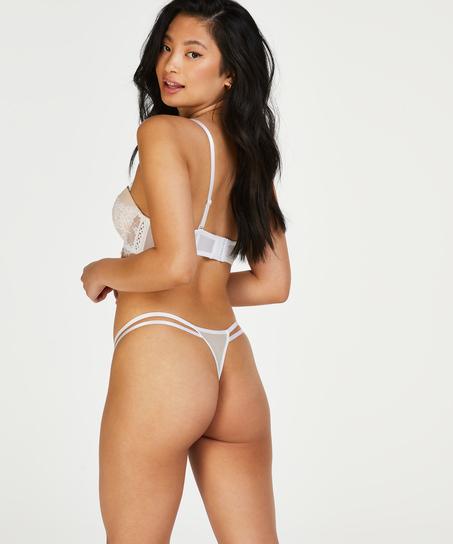 Voorgevormde beugel bh Leyla, Wit