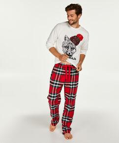 Pyjamaset heren, Rood
