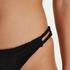 Brazilian bikinibroekje Crochet, Zwart