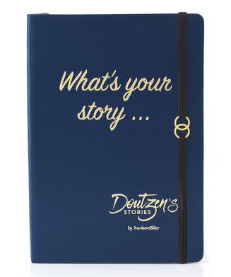 Doutzen Notebook, Blauw