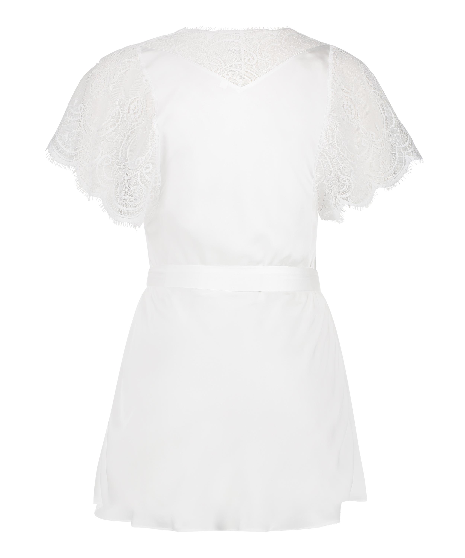 Kimono Cap Sleeve, Wit, main