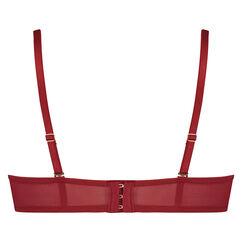 Voorgevormde strapless beugel bh Mara, Rood