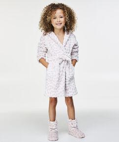 Badjas Fleece Kids, Roze