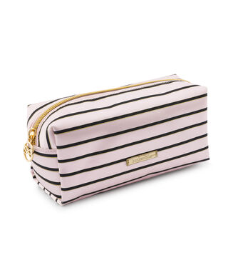 Make up tas Stripe, Roze
