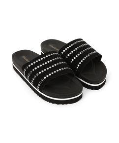 Slippers Influencer, Zwart