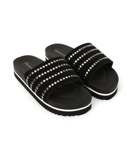Slippers Influencer, Zwart