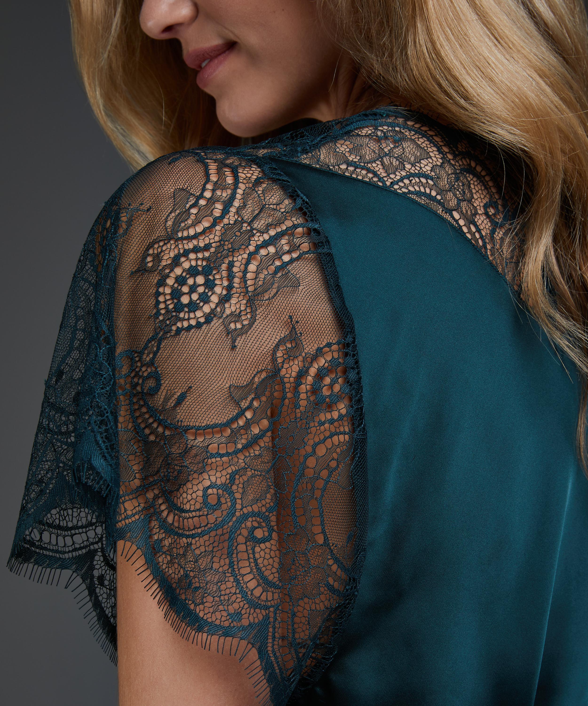 Kimono Cap Sleeve, Groen, main