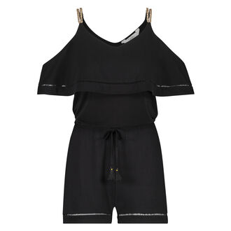 Playsuit Goddess Doutzen, Zwart