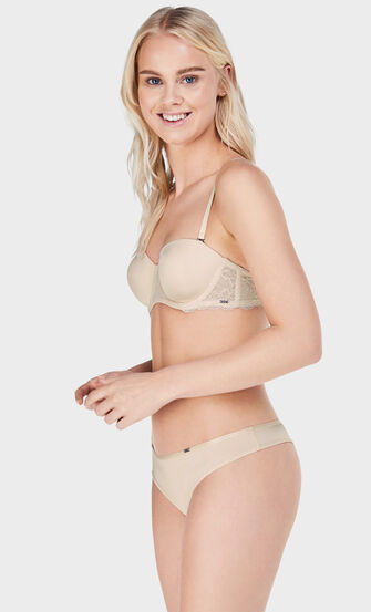 String Angie Nude, Roze