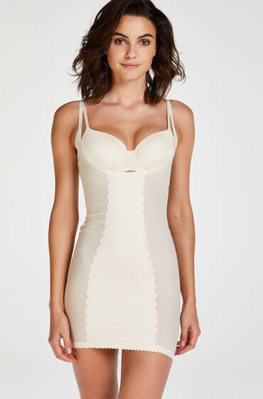 Hunkemoller Corrigerende jurk - Level 3 Beige