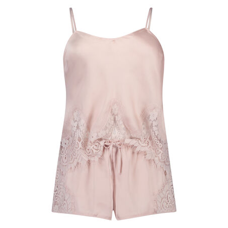 Pyjama set Satin, Roze
