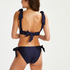 Triangle bikinitop Harper, Blauw