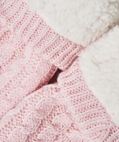 Slof Sokken Knit, Roze