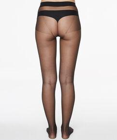 Naadloze Panty 20 Denier, Zwart