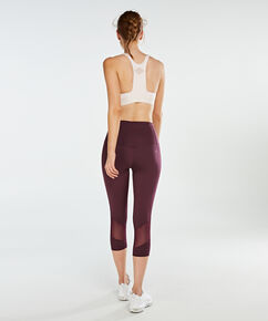 HKMX High waisted capri level 2 , Paars