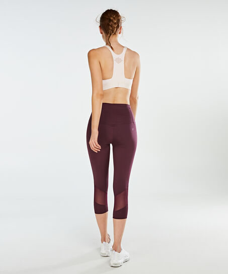 HKMX High waisted capri level 2, Paars